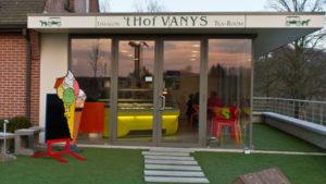 Ijssalon 't Hof VANYS in Maarkedal - Vlaamse Ardennen