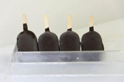 kleine vanillefrisco's met fondant chocolade
